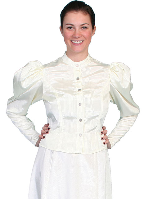 1880's style blouse