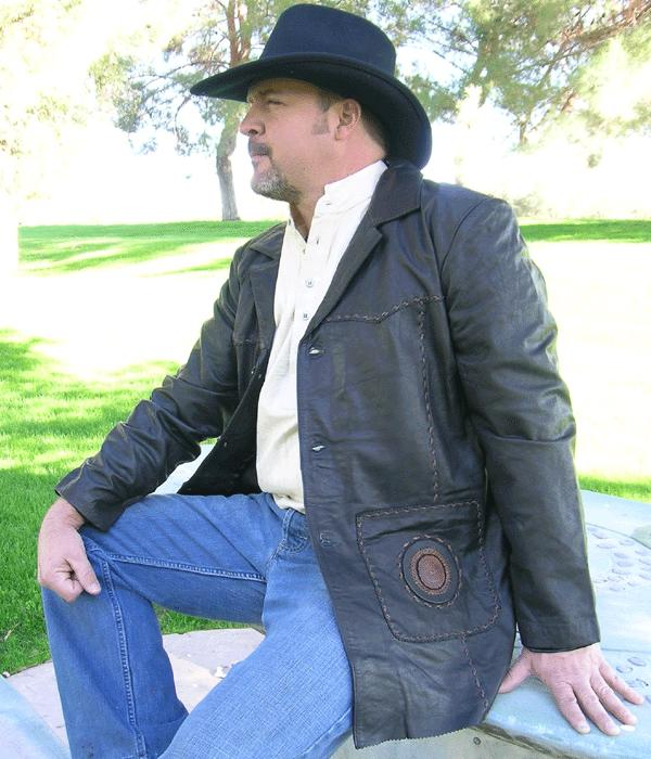 Boulder Western Leather Coat