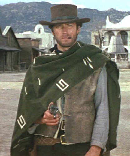Original Old West Classic Clint Eastwood 100% wool poncho