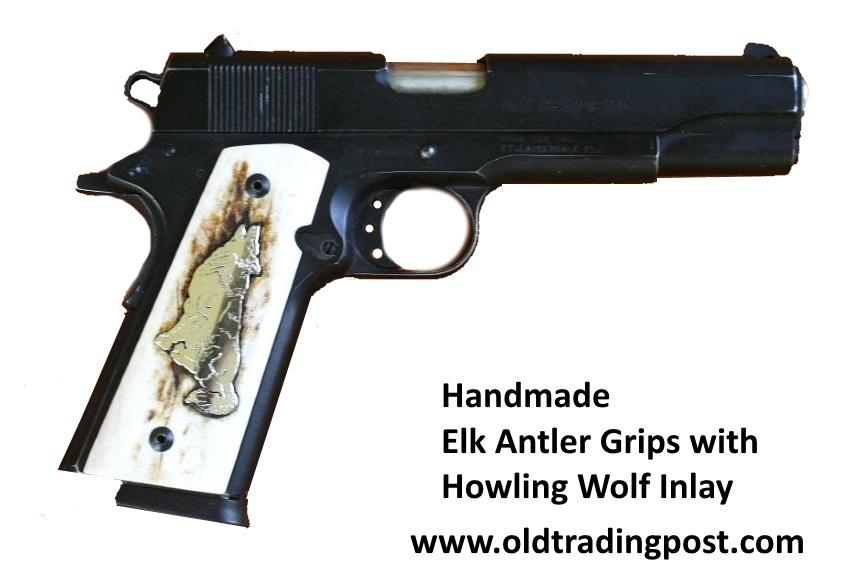 Handmade Semi Automatic Grip Panels