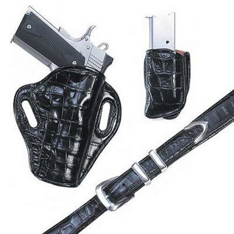 Exotic Hide Holsters, Belts, Sets