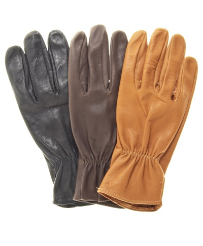 Kangaroo Leather Elastic Back Roper Riding / Driving Gloves