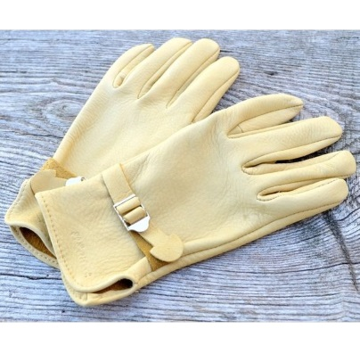 Deerskin Slip On Driving / Riding Gloves With Slide Buckle