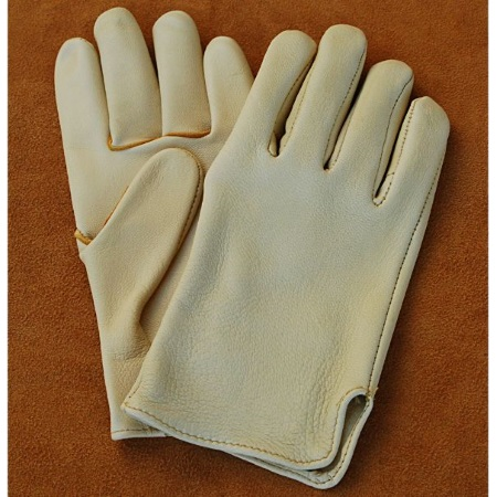Western Cowboy Goatskin Slip On Riding / Driving Gloves