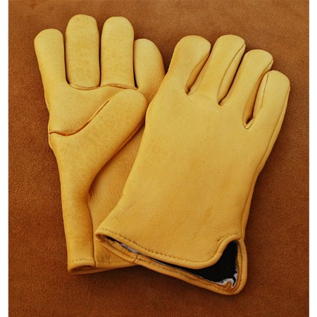 Elk Hide Mediumweight Slip On Gloves with Thinsulate® Lining