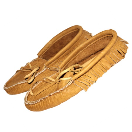 American Bison Adult Moccasins