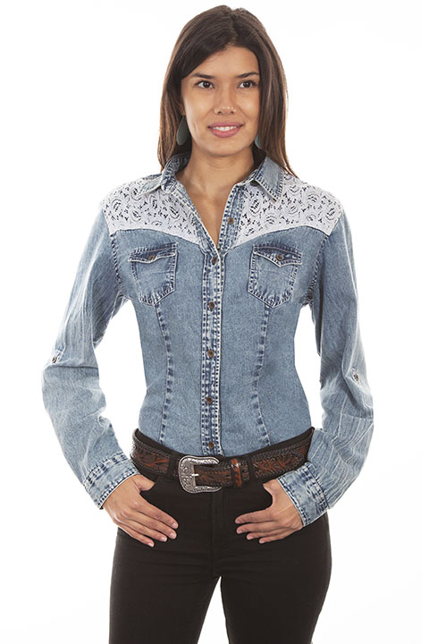 Traditional western style blouse
