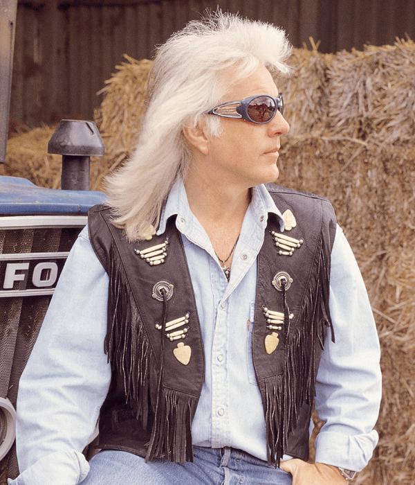 The Hunter Western Leather Vest