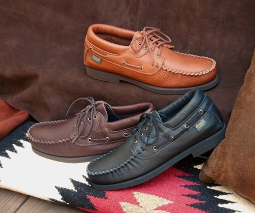 Men's Lace-Up Classic Rubber Sole Shoes