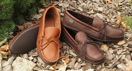 Men's Molded Sole Moccasins