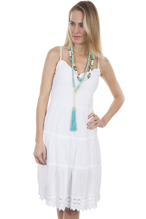 100% peruvian cotton dress