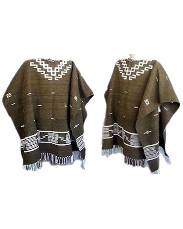 Clint Eastwood 100% Wool Poncho
