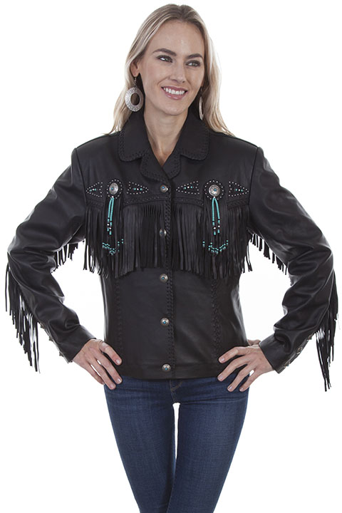 1209f1b18 Fringe and beaded jacket [L152] : OldTradingPost.com Western Store ...