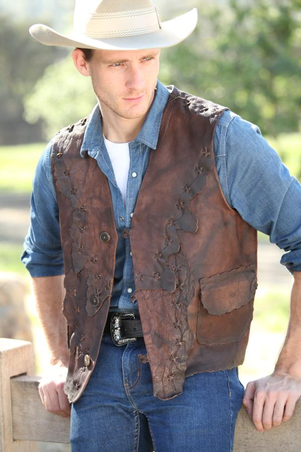 Rough Cut Unlined Mountain Man Vest