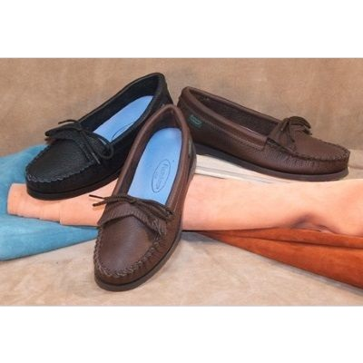 Women's Slip-On Moccasin Shoes