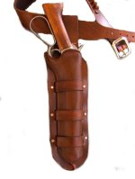 The McQueen Bounty Hunter Mare's Leg Gun Belt and Holster Set