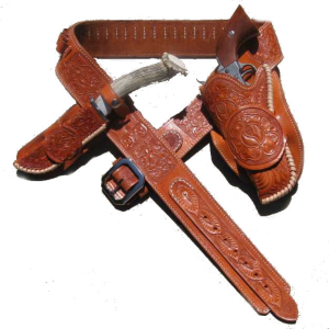 Old Trading Post Western Gun Belt and Holster Sets