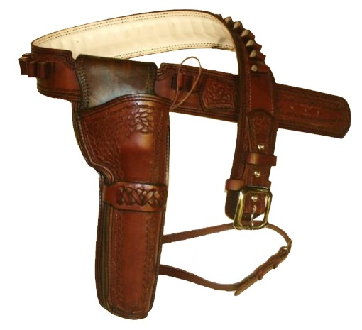 Western Hunting Gun Belt and Holster Sets