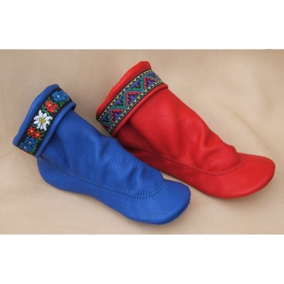Footwear by Footskins Women's Moccasins, Shoes and Boots