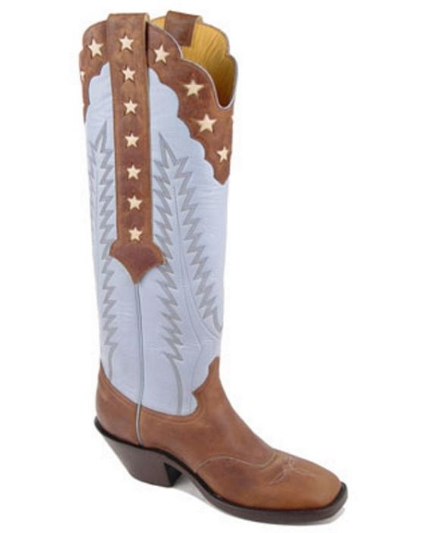 Western Leather Work Boots