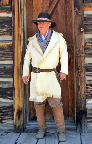 Handmade Mens Deer Hide / Buckskin Apparel