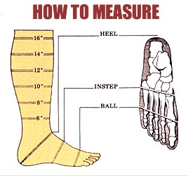 How to measure for a custom boot