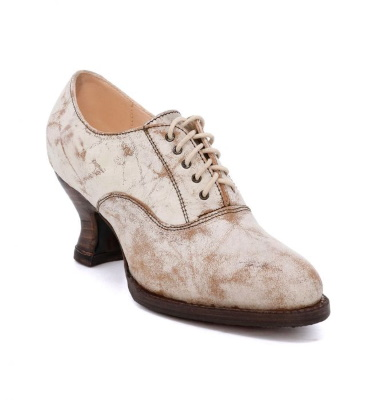 Janet Nectar Leather Shoe Old West Victorian Footwear