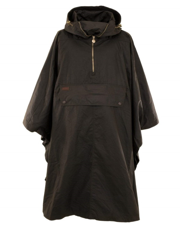 Packable Oilskin Poncho