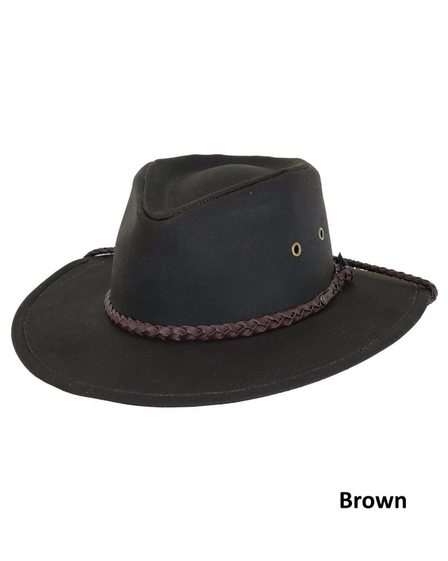 Grizzly 100% Cotton Oilskin Hat