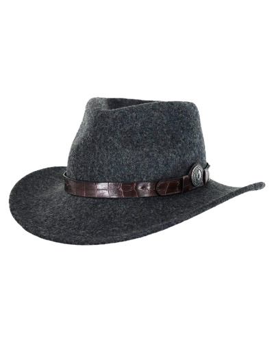 Collingsworth Hat with Snakeskin Band