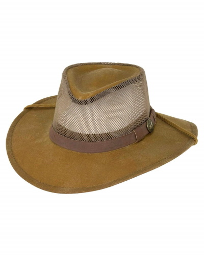 Kodiak with Mesh Crown Oilskin Hat