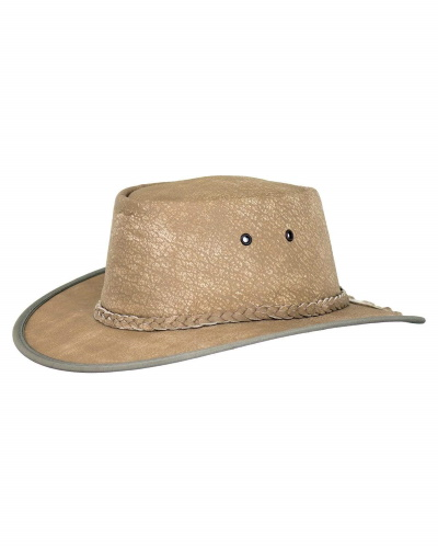 Dundee Leather Outback Hat