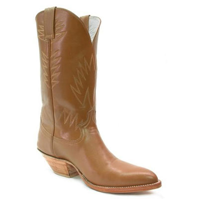 123 Smooth Leather Handmade Cowboy Boots