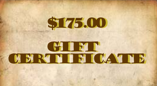 $175.00 Gift Certificate