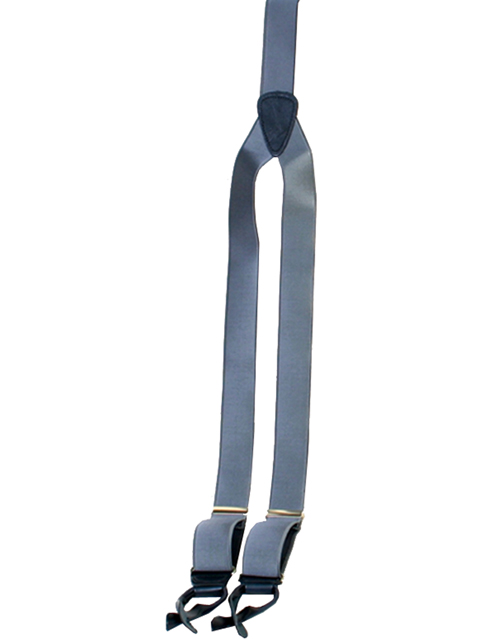 1822 Albert Thurston Design Suspenders Pant Braces French Satin