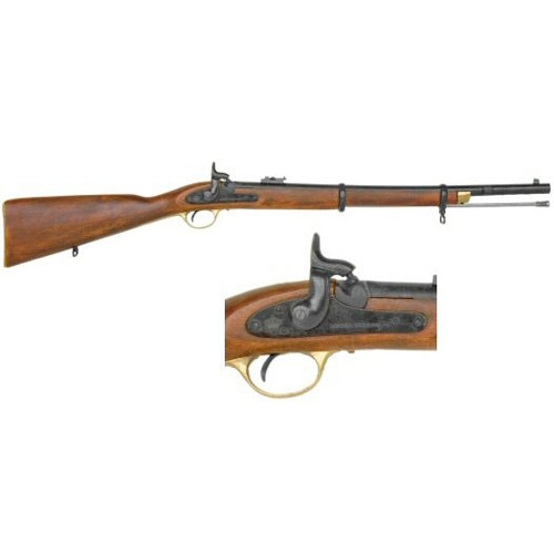 1861 Enfield 2 Band Musketoon Civil War Non Firing Replica Rifle