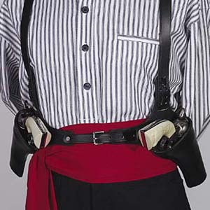 1874 Original Huckleberry Double Cross Draw Shoulder Holsters