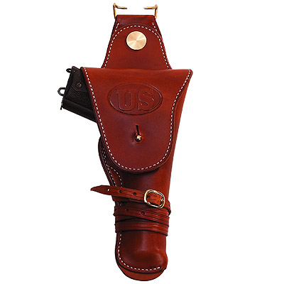 1911 Leather Pershing Flap Holster