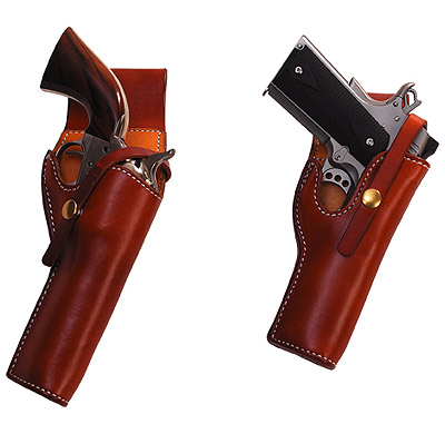 1939 S D Myres Design General George Patton Leather Gun / Pistol Holster