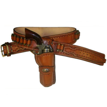 1946 Hollywood Apache Scout Cartridge Gun Belt and Single Loop Holster(s)