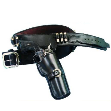 1960 Bret Maverick Style Cartridge Gun Belt and Hollywood Fast Draw Holster(s)