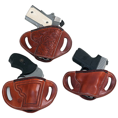 1988 Street Combo Leather Pistol Belt Holster