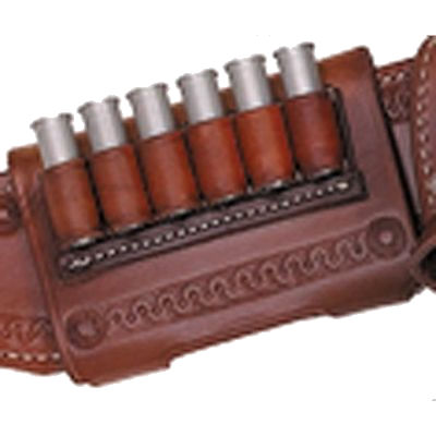 6 Loop Leather Hellfire Competition Ammo Slide