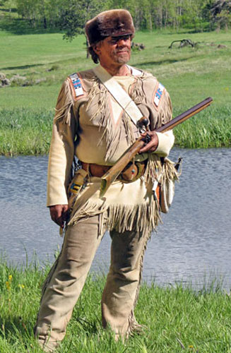 Handmade Deer Hide Beaded Deluxe Frontiersman Shirt and Buckskin Pants / Leggings