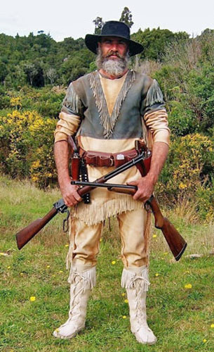 Deerskin Deluxe Mountain Man Shirt and Pants