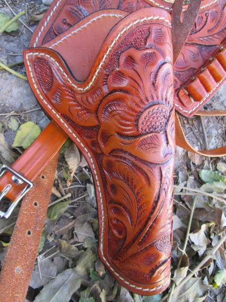 Western Shoulder Holster for Revolvers