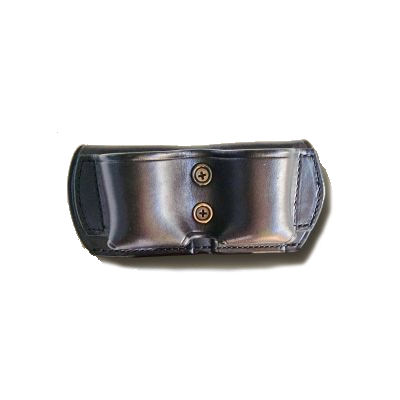 Ammunition Leather Double Pouch Open Top Speed Loader