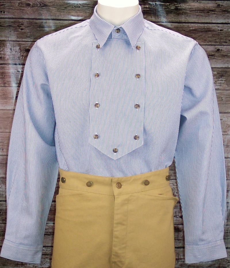 Appaloosa Western Cowboy Bib Front Cotton Shirt Otp Fc