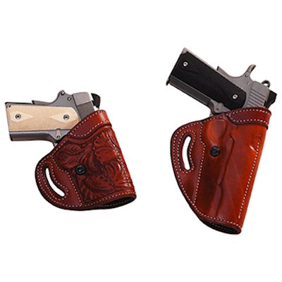 Askins Style Double Agent Dual Position Pistol Holster