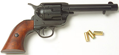 Blued Finish M1873 Old West Replica Revolver